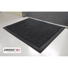 Sale Passorex Waterproof Pvc Coil Floor Mat With Rubber Edge Prxeme675213 Grey Online On Singapore
