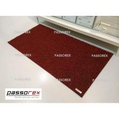 Passorex Waterproof Pvc Coil Floor Mat Prxem1206013 Black Red Deal