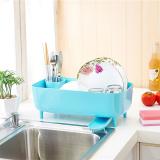 Cheapest Peace Of Mind Plastic Dish Rack Dripping Bathroom Shelf Drain Water Dish Rack Online
