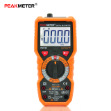 Peakmeter Pm18C True Rms Multifunctional Digital Multimeter Measuring Ac Dc Voltage Current Resistance Capacitance Frequency Temperature Hfe Ncv Live Line Tester On Hong Kong Sar China