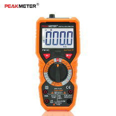 Price Comparisons Of Peakmeter Pm18C True Rms Multifunctional Digital Multimeter Measuring Ac Dc Voltage Current Resistance Capacitance Frequency Temperature Hfe Ncv Live Line Tester