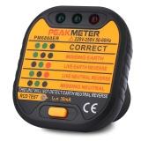 Discounted Peakmeter Pm6860Er Automatic Electric 220V 250V Uk Plug Socket Tester Intl