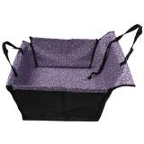 Pet Dog Car Seat Cover Bag Hammock Cushion Protector Waterproof Purple Export Sale
