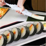 Petrel Sushi Mold Maker Bazooka Shaped Sushi Rolls Making Tool Rice Ball Mould Roller Cooking Tools Color White Intl Coupon