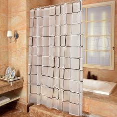 Price Mimosifolia Peva Shower Curtain Bathing Bath Curtain Bathroom Curtain 180X200Cm Intl Mimosifolia