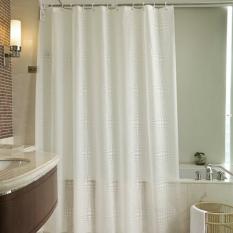 How To Buy Mimosifolia Peva Shower Curtain Bathing Bath Curtain Bathroom Curtain 180X200Cm Intl