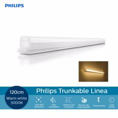 Buy Philips 31091 Trunkable Linea Led Batten Wall Light Cove Light 120Cm 12W 1000Lm 3000K Warm White Yellow Light Philips Cheap