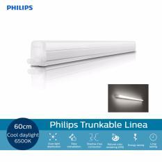 Price Philips 31098 Trunkable Linea Led Batten Wall Light Cove Light 60Cm 7W 500Lm 6500K Cool Daylight White Light On Singapore