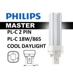 Price Comparisons Of Philips Master Pl C 18W 865 2P 6 Pieces Free 4 Pieces Cool Daylight