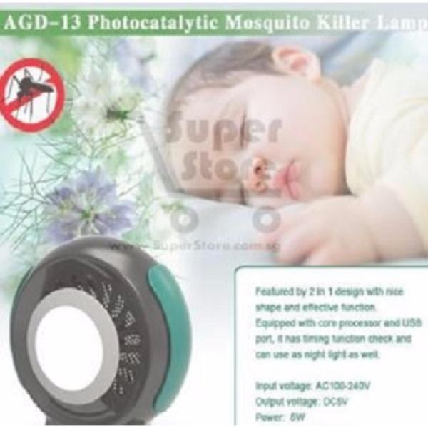 Photocatalysis Mosquito Repellent Killer Lamp protects you from Zika Virus Dengue and other virus.