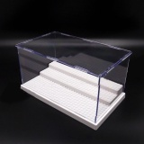 Compare Photo Uk Acrylic Display Box For Lego Minifigures Case Plastic 3Steps White Base Block Intl