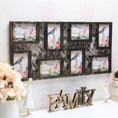 Buy Plastic Collage Hanging Photo Frame Love Family Picture Display Wall Home Decor Intl Oem Cheap