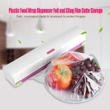 Discount Plastic Food Wrap Dispenser Wrap Cutter Foil And Cling Film Cutte Storage Kitchen Intl