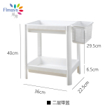 Cheap Plastic Kitchen Living Room Bathroom Shelf Storage Rack Online