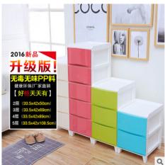 Discount Plastic Living Room Bedroom Storage Cabinet Bedside Cabinet China