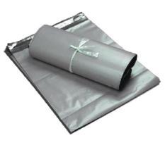 Discount Plastic Mailing Bag Courier Bag Silver 28X42Cm 100Pcs