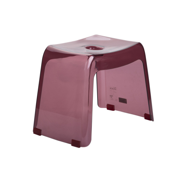 Japanese Bathroom Stool Bath Stool Plastic Non-Slip Toilet Small Stool Low Stool Foot Wash Shoes Small Square Stool