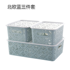 Household Storage Drawer Box with Cover