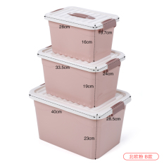 Plastic With Cover Cosmetic Products Desktop Storage Box Lower Price