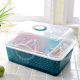 Plastic With Lid Chopsticks Cutlery Storage Box Dish Rack Cupboard Review
