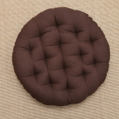 Round Cotton Linen Tatami Cushion Sofa Chair Cushion Lazy Floor Seat Cushion Summer Futon Bay Window Back Cushion Thick