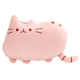 Sale Plush Big Cookie Cat Shape Throw Pillow Back Cushion Sofa Seat Toy Doll Home Decoration Gift Pink Vococal Online
