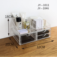 The Cheapest Poly Cute Desktop Cosmetic Storage Box Online
