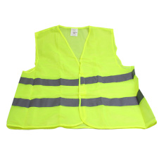 Polyester Fabric Reflective Safety Vest Jacket Green By Welcomehome
