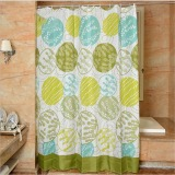 Mimosifolia Polyester Shower Curtain Bathing Bath Curtain Bathroom Curtain 180X180Cm Intl Lower Price