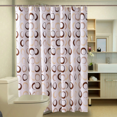 Sale Mimosifolia Polyester Shower Curtain Bathing Bath Curtain Bathroom Curtain 180X200Cm Intl Hong Kong Sar China Cheap