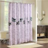 Sale Mimosifolia Polyester Shower Curtain Bathing Bath Curtain Bathroom Curtain 180X200Cm Intl