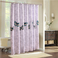 Sale Mimosifolia Polyester Shower Curtain Bathing Bath Curtain Bathroom Curtain 180X200Cm Intl Mimosifolia Online