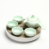 Top Rated Porcelain Japanese Style Ceramic Small Tea Tray