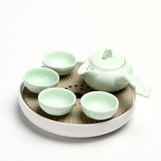 Porcelain Japanese Style Ceramic Small Tea Tray Oem Cheap On Singapore
