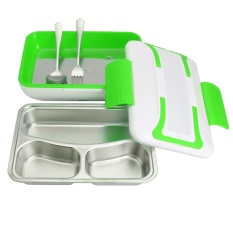 Portable Car Truck Electric Heating Lunch Box Food Warm Heater Storage Container - Intl By Teamwin.