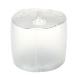 Buy Portable Inflatable 10 Led Rgb Light Solar Powered Folding Lantern W 8 Mode Transparent Online
