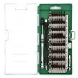 Best Price Portable Magnetism Screwdriver Bit Set Professional Durable Disassemble Repair Tool Kit With Storage Box For Ipad Iphone Tablets Laptops Pc Smartphones Watch Intl