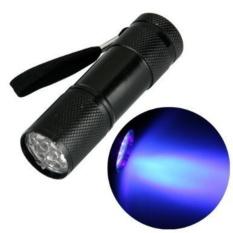 Portable Mini 9 LED Flashlight UV Ultraviolet LED Tactical Flashlight Lanterna Torch Linterna Led Light Lamp - intl