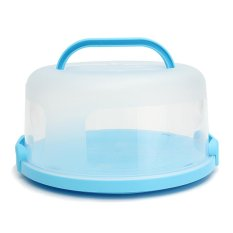 Sale Portable Round Cake Dessert Holder Container Carrier Handle Clip Lock Case Box Not Specified Cheap