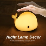 Buy Portable Silicone Led 5 Colors Night Lamp Decor Colorful Usb Rechargeable Cute Children Light Intl Oem Online