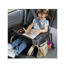 Portable Waterproof table Car Seat Tray Storage Kids Toys Infant Stroller Holder for Children - intl