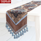 Compare Style Red European High Grade Luxury Bed Runner Table Runner