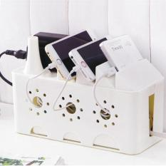 Sale Power Strip Storage Boxes Organizer Cables Electric Wire Case Accessories Supplies Safety Socket Outlet Board Container 24X16X10 5Cm Intl Oem Online