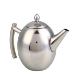Wholesale Practical High Quality Hot Sell 1 5L Stainless Steel Teapot Coffee Pot Filter Strainer Home Hotel Barware Intl
