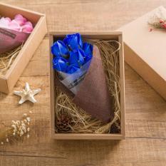 Discount Premium 7 Pieces Flower Soap Bouquet Rose For Valentine S Day Birthday Propose Engagement Wedding Anniversary Love Gift Present