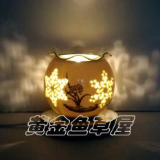 Cheapest Printed Ceramic Plug Oil Lamp Incense Aromatherapy Lamp Online