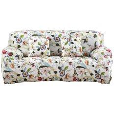 Printed Cloth Art Spandex Stretch Slipcover Sofa Cover- -(145-185cm)intl