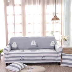 Printed Stretch Elastic Sofa Cover Slipcovers Couch Furniture Protector For 3 Seater Intl Shop