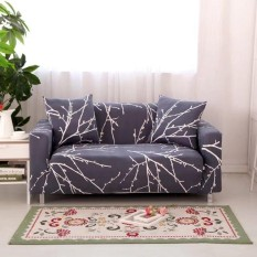 Latest Printed Stretch Elastic Sofa Cover Slipcovers Couch Furniture Protector For 4 Seater Intl