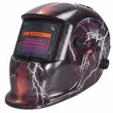 Price Pro Solar Welder Mask Helmet Auto Darkening Welding Skull God Lightning Export On China